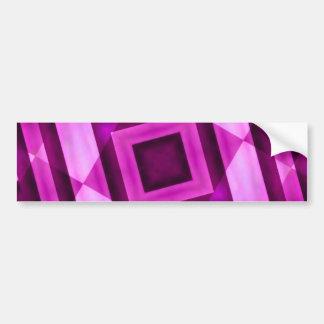 Pegatina para el parachoques abstracta geométrica pegatina de parachoque