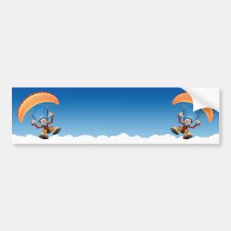 Pegatina para el parachoques adaptable del ala fle pegatina para auto