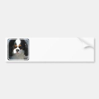 Pegatina para el parachoques adorable del perro de pegatina para auto