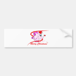 Pegatina para el parachoques afortunada de las Fel Etiqueta De Parachoque