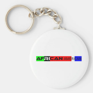 Pegatina para el parachoques afroamericana llaveros