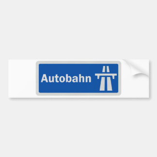 Pegatina para el parachoques alemana de la muestra pegatina para auto