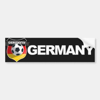 Pegatina para el parachoques alemana del equipo de pegatina de parachoque