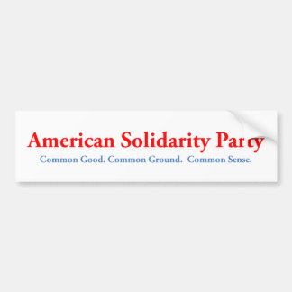 Pegatina para el parachoques americana del fiesta pegatina para auto