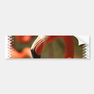 Pegatina para el parachoques americana del flamenc etiqueta de parachoque