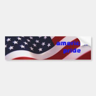 pegatina para el parachoques americana del orgullo pegatina para auto