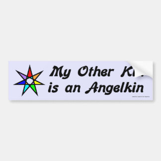 Pegatina para el parachoques - Angelkin Etiqueta De Parachoque
