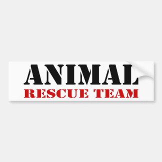 Pegatina para el parachoques animal del equipo de  pegatina para auto
