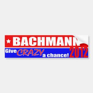 Pegatina para el parachoques Anti-Bachmann Etiqueta De Parachoque