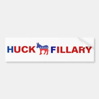 Pegatina para el parachoques anti de Hillary Pegatina Para Auto