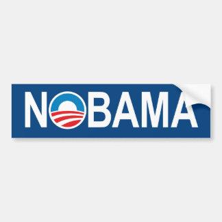 Pegatina para el parachoques anti de NOBAMA Obama Pegatina De Parachoque