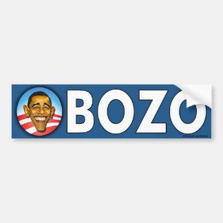 "Pegatina para el parachoques anti de Obama ""Obozo"" Etiqueta De Parachoque"