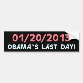 Pegatina para el parachoques anti de Obama Pegatina Para Auto