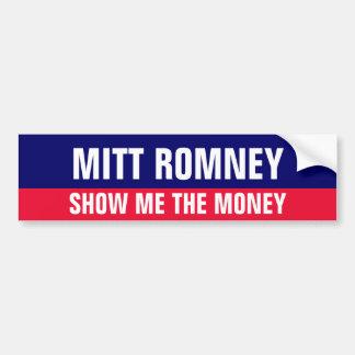 Pegatina para el parachoques Anti-Romney Etiqueta De Parachoque