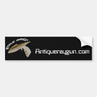 Pegatina para el parachoques antigua de Raygun Pegatina Para Auto