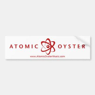 Pegatina para el parachoques atómica de la ostra ( pegatina para auto
