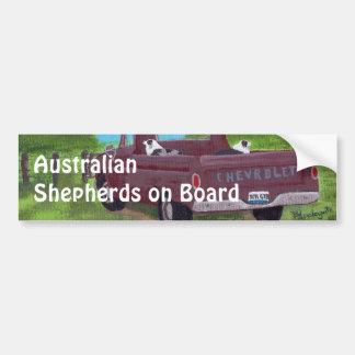 Pegatina para el parachoques australiana de los pa pegatina para auto