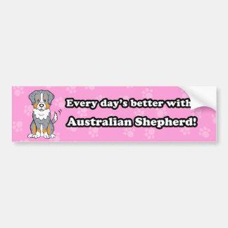 Pegatina para el parachoques australiana del pasto pegatina de parachoque
