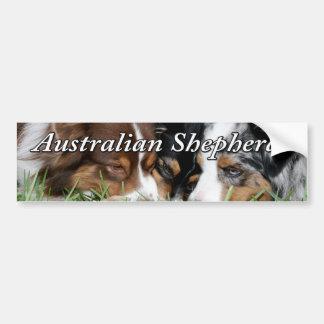 Pegatina para el parachoques australiana del pasto pegatina para auto