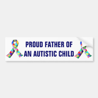 Pegatina para el parachoques autística del autismo pegatina para auto