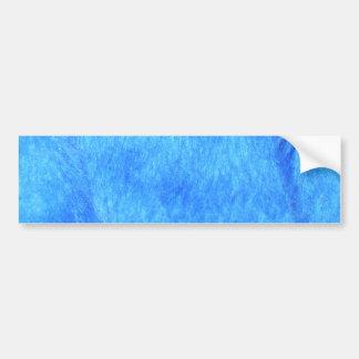 Pegatina para el parachoques azul de la piel de im pegatina para auto