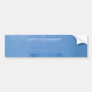 Pegatina para el parachoques azul de la tirita pegatina de parachoque