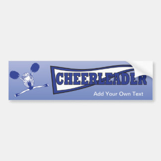 Pegatina para el parachoques azul marino de la pegatina para auto
