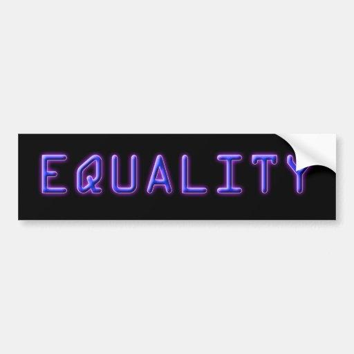 Pegatina para el parachoques azul y púrpura de la  pegatina de parachoque