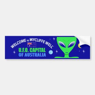 Pegatina para el parachoques bien del UFO de Wycli Pegatina Para Auto