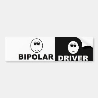 Pegatina para el parachoques bipolar del conductor pegatina para auto