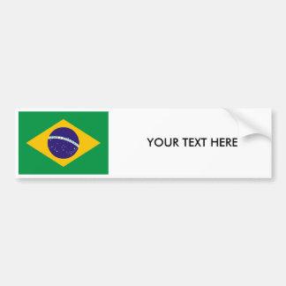Pegatina para el parachoques BRASILEÑA de la BANDE Etiqueta De Parachoque