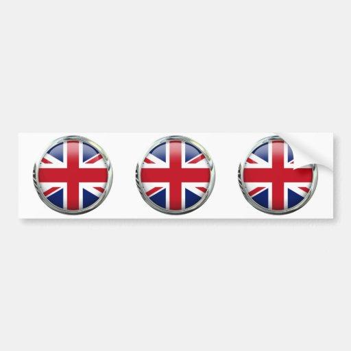 Pegatina para el parachoques británica de Union Pegatina Para Auto