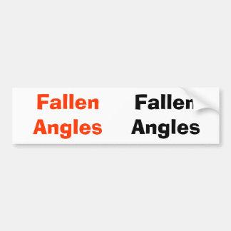 Pegatina para el parachoques caida de los ángulos pegatina para auto