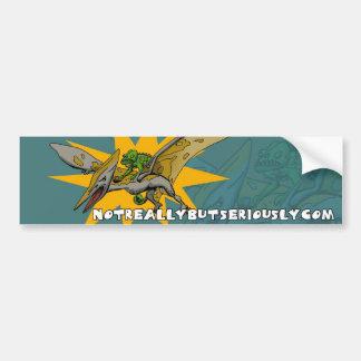 Pegatina para el parachoques etiqueta de parachoque