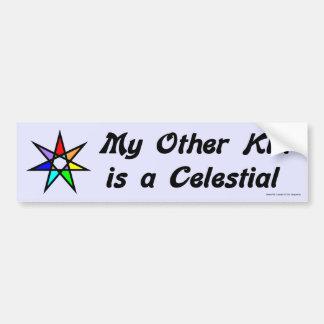 Pegatina para el parachoques - celestial etiqueta de parachoque