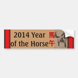Pegatina para el parachoques china del caballo del etiqueta de parachoque