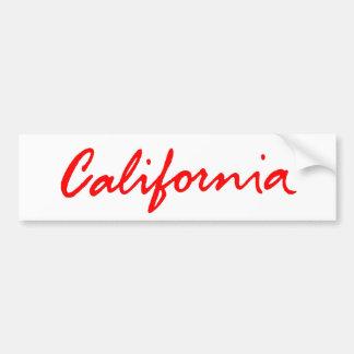 Pegatina para el parachoques clásica del logotipo pegatina de parachoque