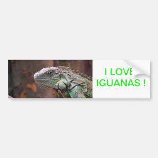 Pegatina para el parachoques con el lagarto colori pegatina de parachoque