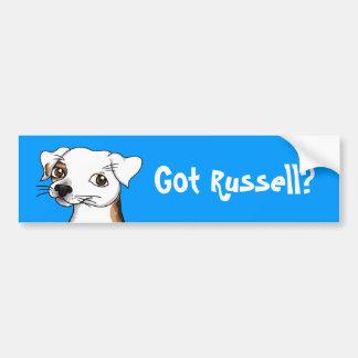 Pegatina para el parachoques conseguida de Russell Etiqueta De Parachoque