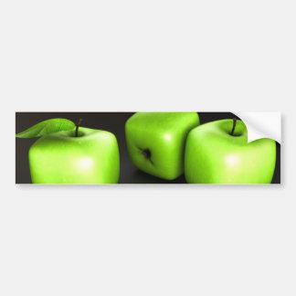 Pegatina para el parachoques cúbica de Apple Pegatina Para Auto