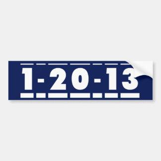 Pegatina para el parachoques de 2013 elecciones pegatina de parachoque