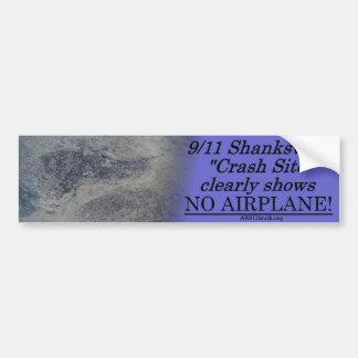 Pegatina para el parachoques de 911 Shanksville Pegatina Para Auto