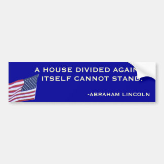 Pegatina para el parachoques de Abraham Lincoln Pegatina Para Auto