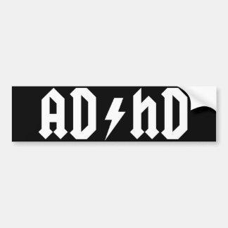 Pegatina para el parachoques de ADHD Pegatina Para Auto