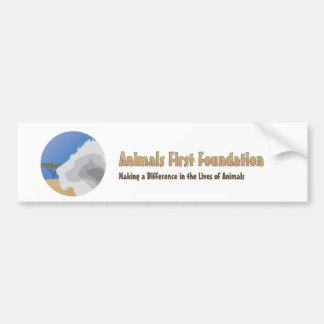 Pegatina para el parachoques de AFF Etiqueta De Parachoque