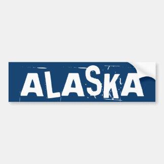 Pegatina para el parachoques de Alaska Pegatina De Parachoque