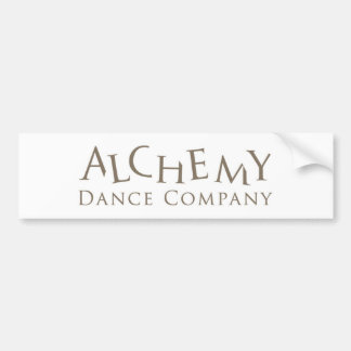 Pegatina para el parachoques de Alchemy Dance Comp Pegatina Para Auto