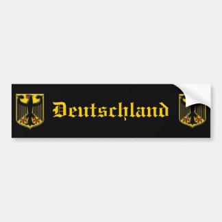 Pegatina para el parachoques de Alemania Etiqueta De Parachoque