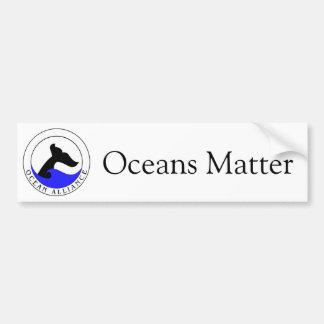 Pegatina para el parachoques de Alliance del océan Etiqueta De Parachoque