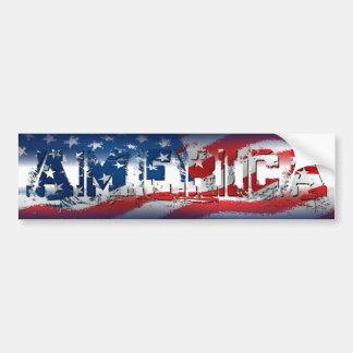 Pegatina para el parachoques de América Pegatina Para Auto